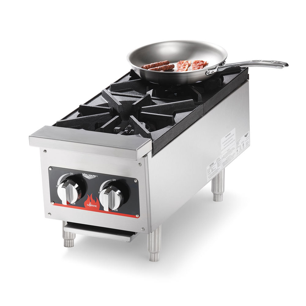 Countertop Stove Burners : Vollrath 40736 2 Burner Countertop Range (Anvil HPA1002)