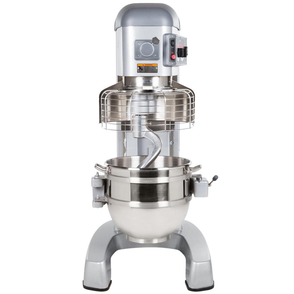 Hobart Legacy HL662-1 60 Qt. Commercial Planetary Floor Pizza Mixer -  200/240V, 2 7/10 hp