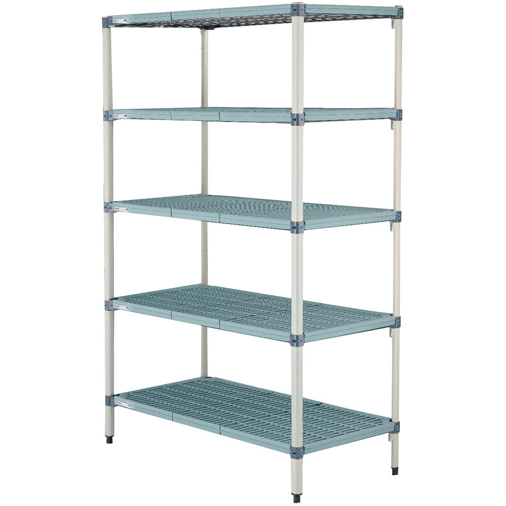 "Metro 5AQ457G3 MetroMax Q Shelving Add On Unit - 21"" x 48"" x 74"""
