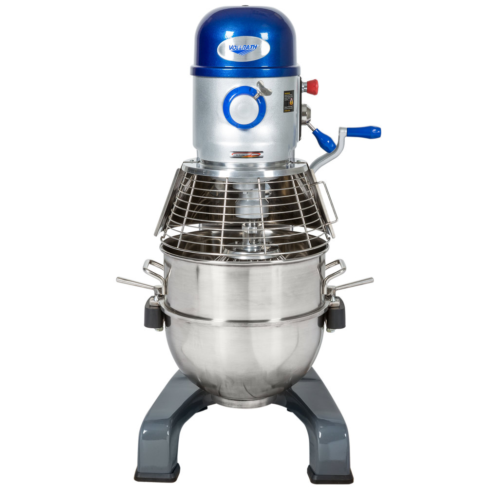 Vollrath 40759 40 Qt. Commercial Planetary Floor Mixer with 3 Speeds - 1 1/2 hp
