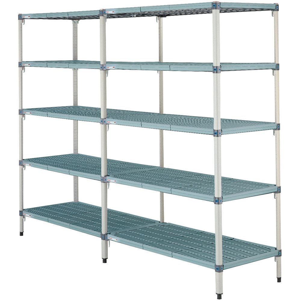 "Metro 5AQ347G3 MetroMax Q Shelving Add On Unit - 18"" x 42"" x 74"""