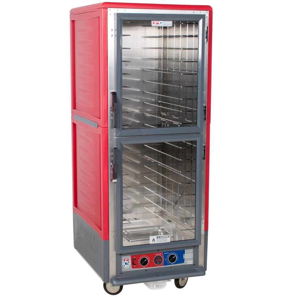 Metro C539-MDC-L C5 3 Series Moisture Heated Holding and Proofing Cabinet - Clear Dutch Doors