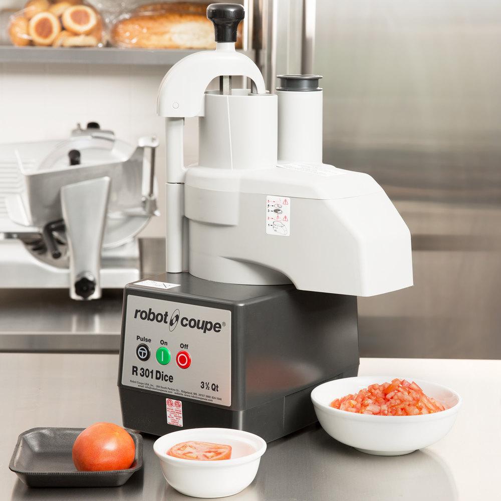 Robotcoupe  Qt Dicer Food Processor Commercial