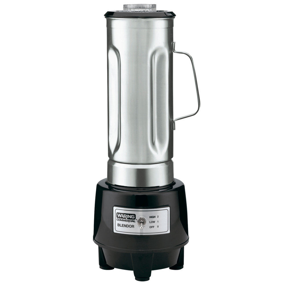 Waring Hgb150 1 1 2 Hp Commercial Food Blender With 64 Oz