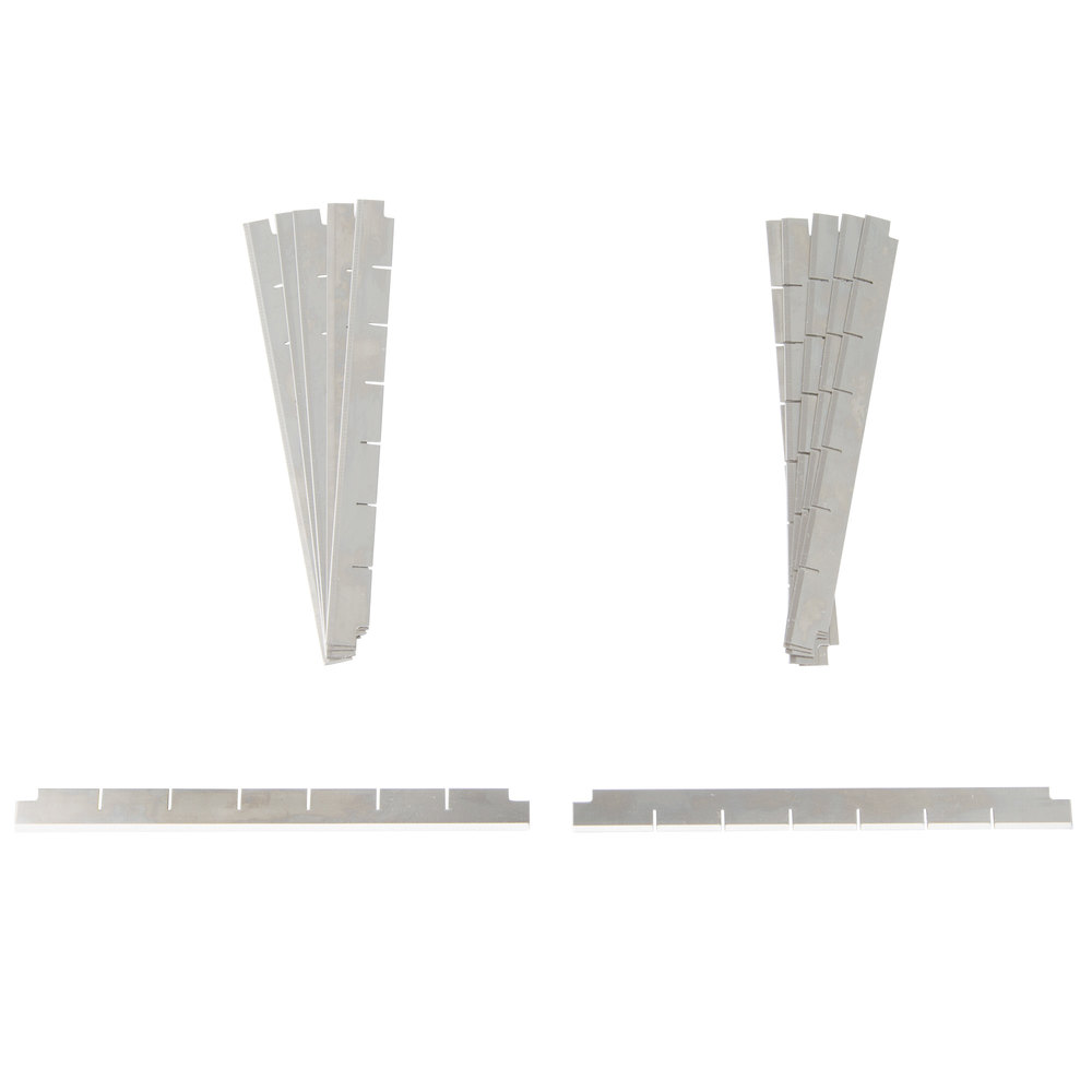 "Nemco 536-3 1/2"" Square Cut Replacement Blade Set"