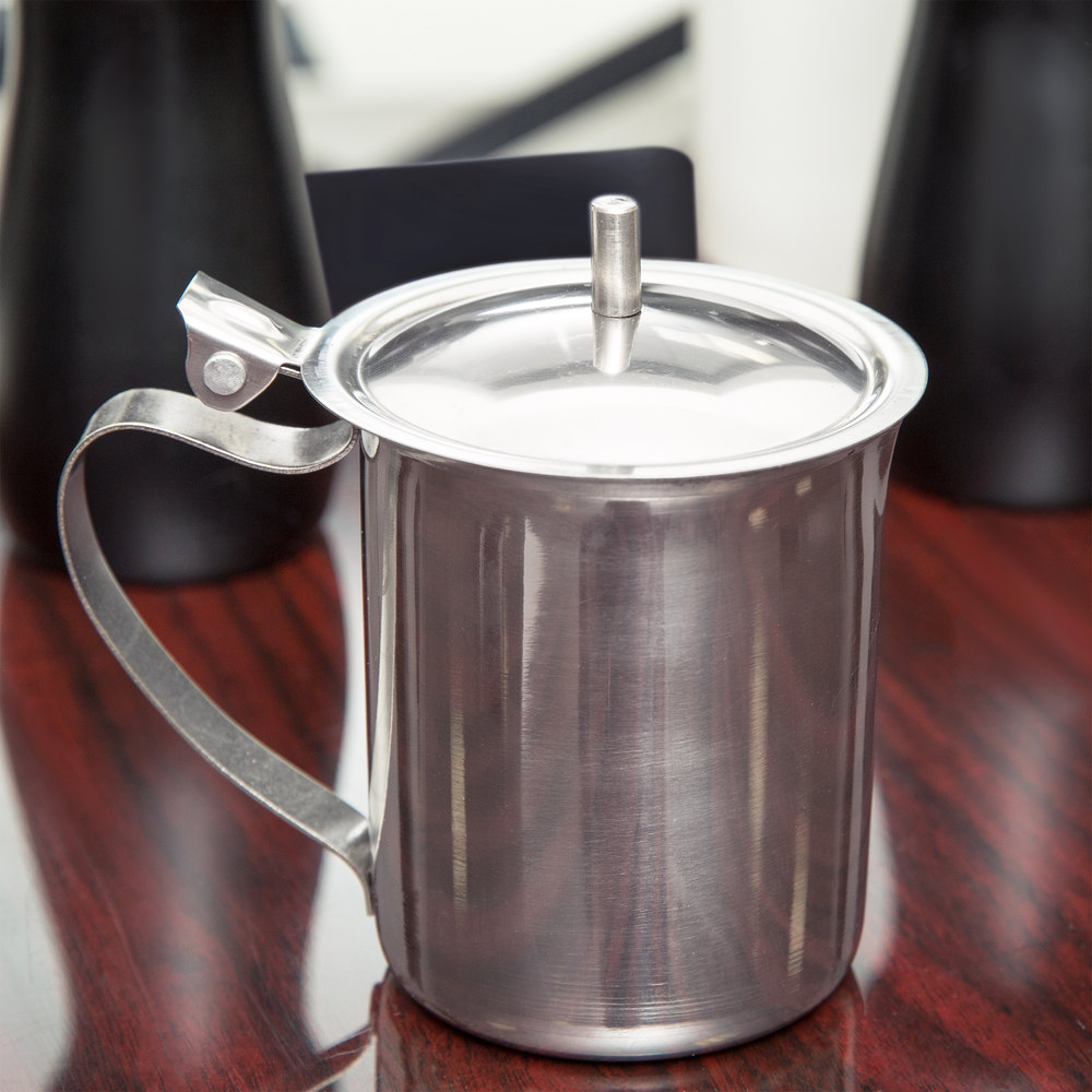10 oz. Stainless Steel Server with Closed Handle