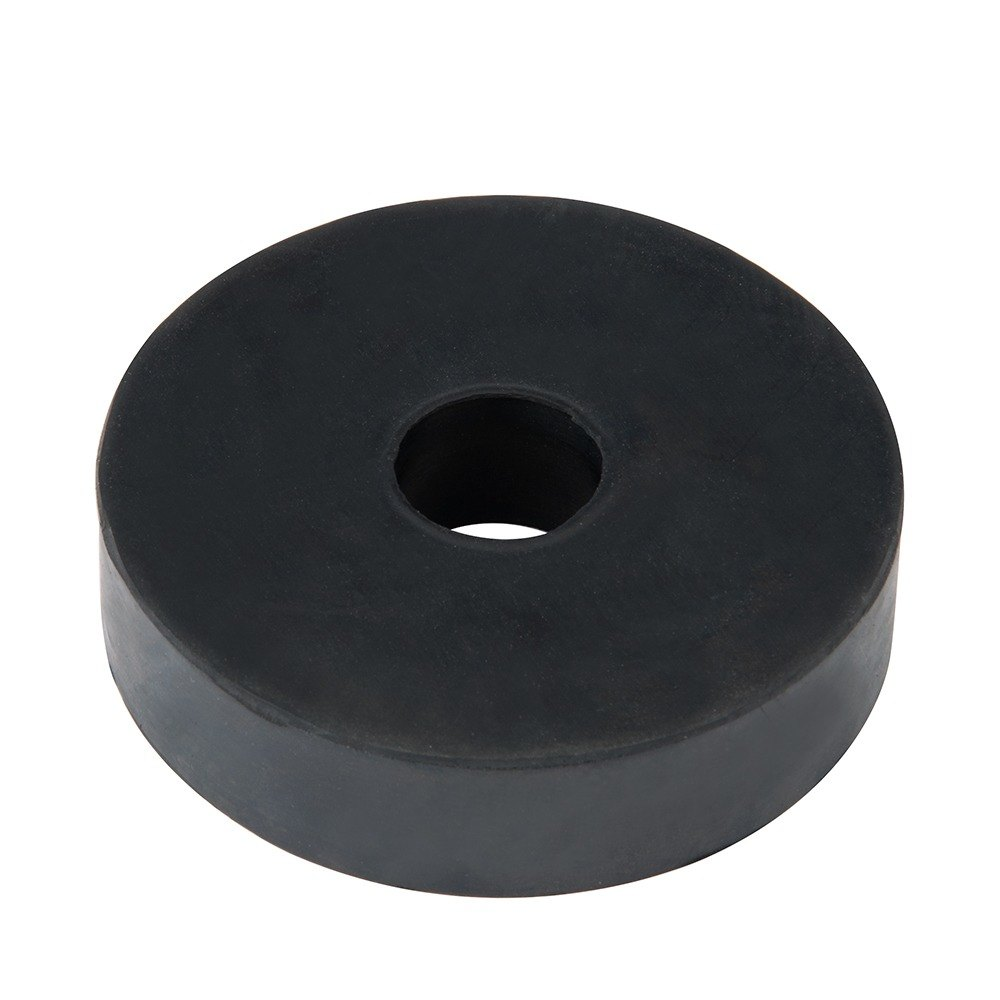 Regency 3 1/2 inch Heavy Duty Rubber Donut Bumper for Carts and Mobile Shelving Units