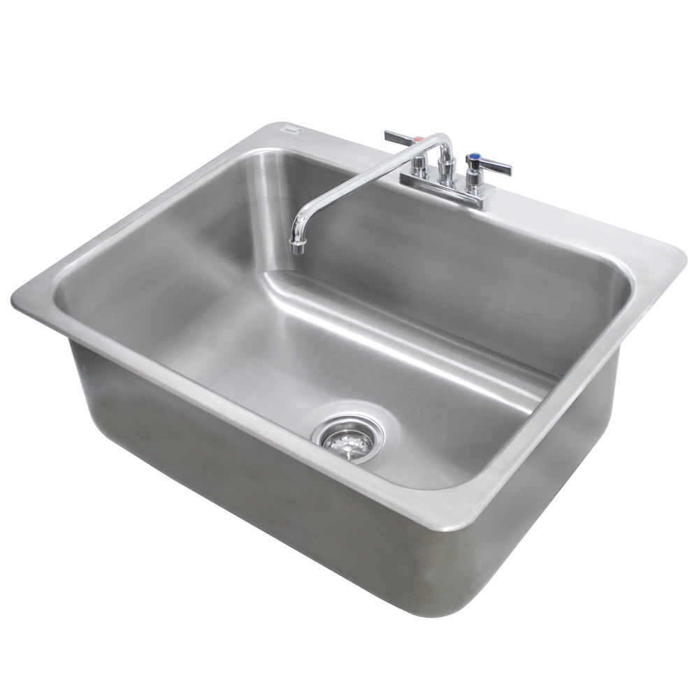 Advance Tabco Di 1 208 Drop In Stainless Steel Sink 20