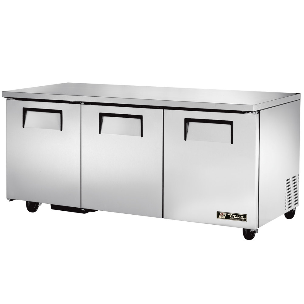 "True TUC-72-ADA 72"" ADA Height Undercounter Refrigerator"