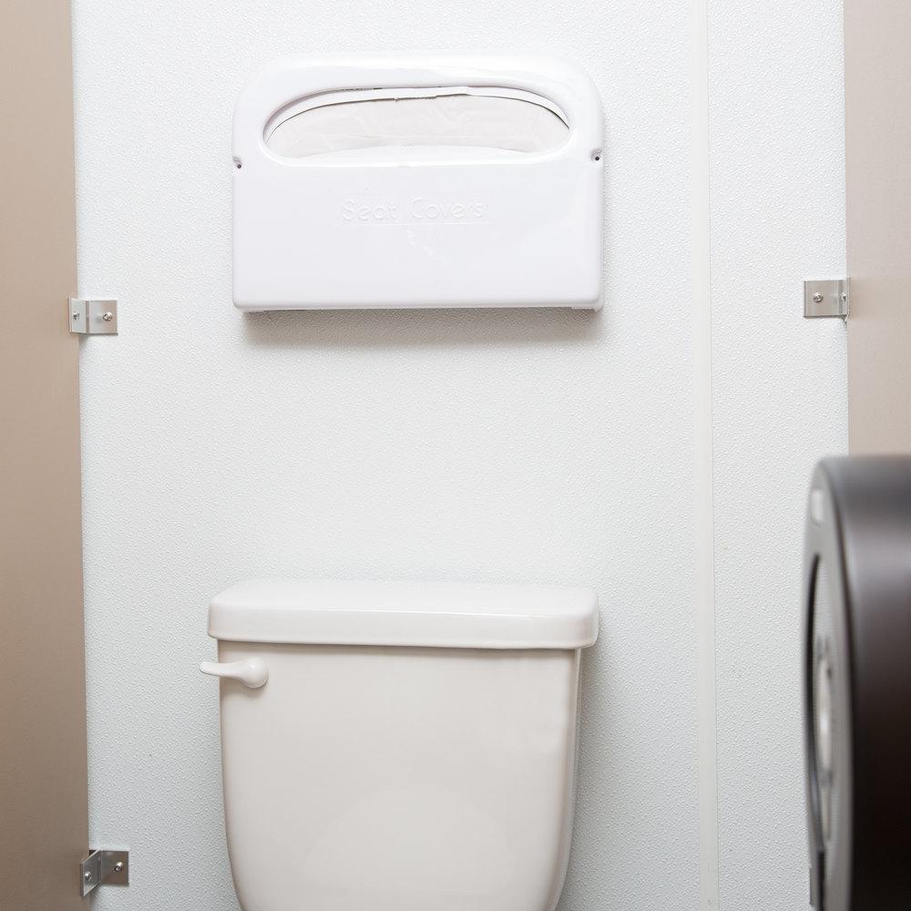 Bathroom Stall Crack Cover toilet seat cover dispenser