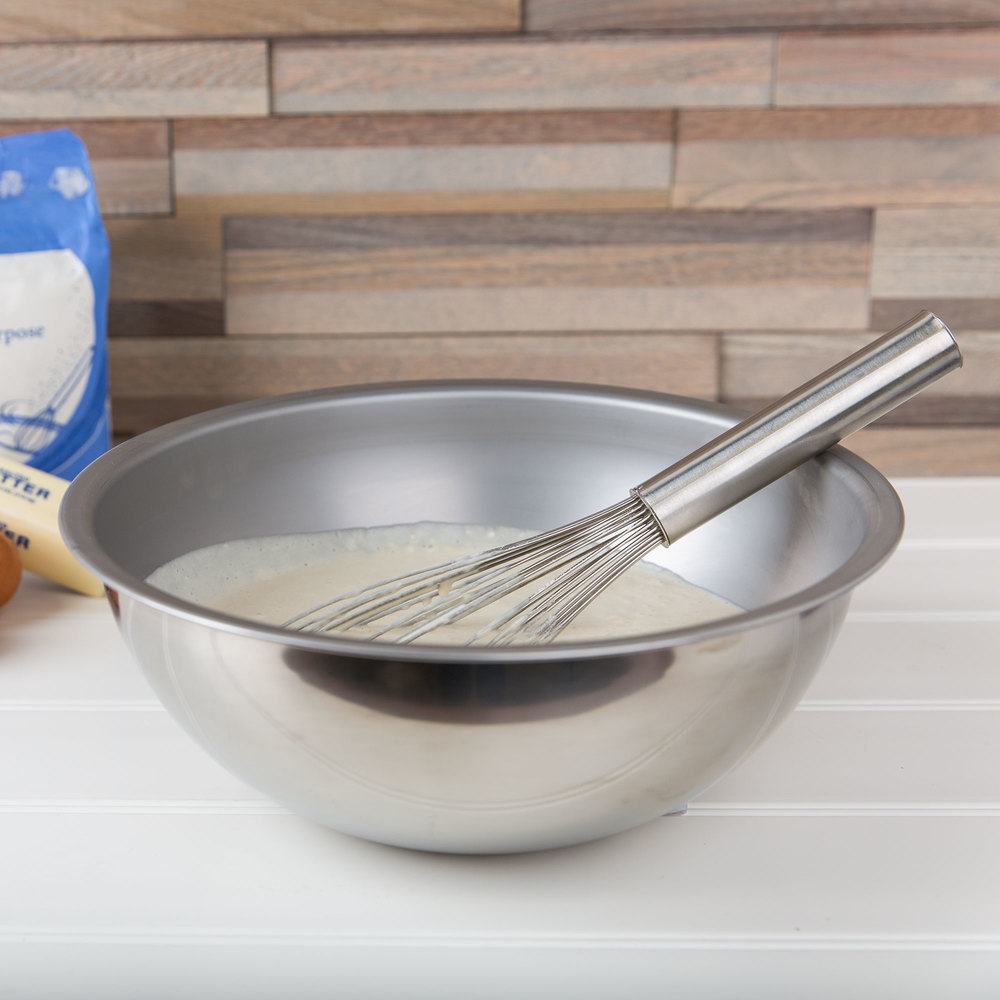Vollrath 69050 5 Qt. Heavy Duty Stainless Steel Mixing Bowl