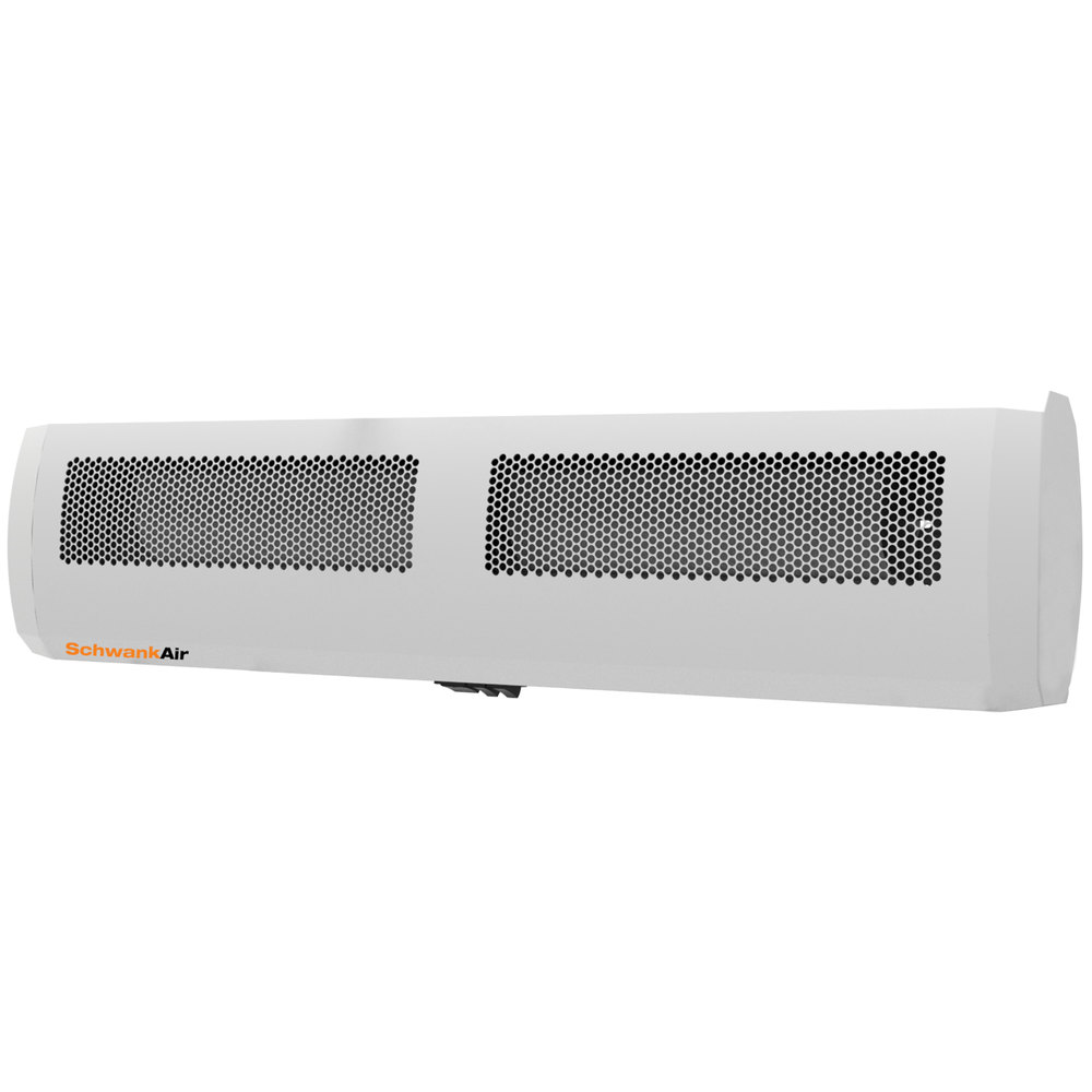 "Electric Air Curtain Heaters Chameleon The Architectural: Schwank AC-JE32-20 32"" Surface Mounted Drive-Thru Window"