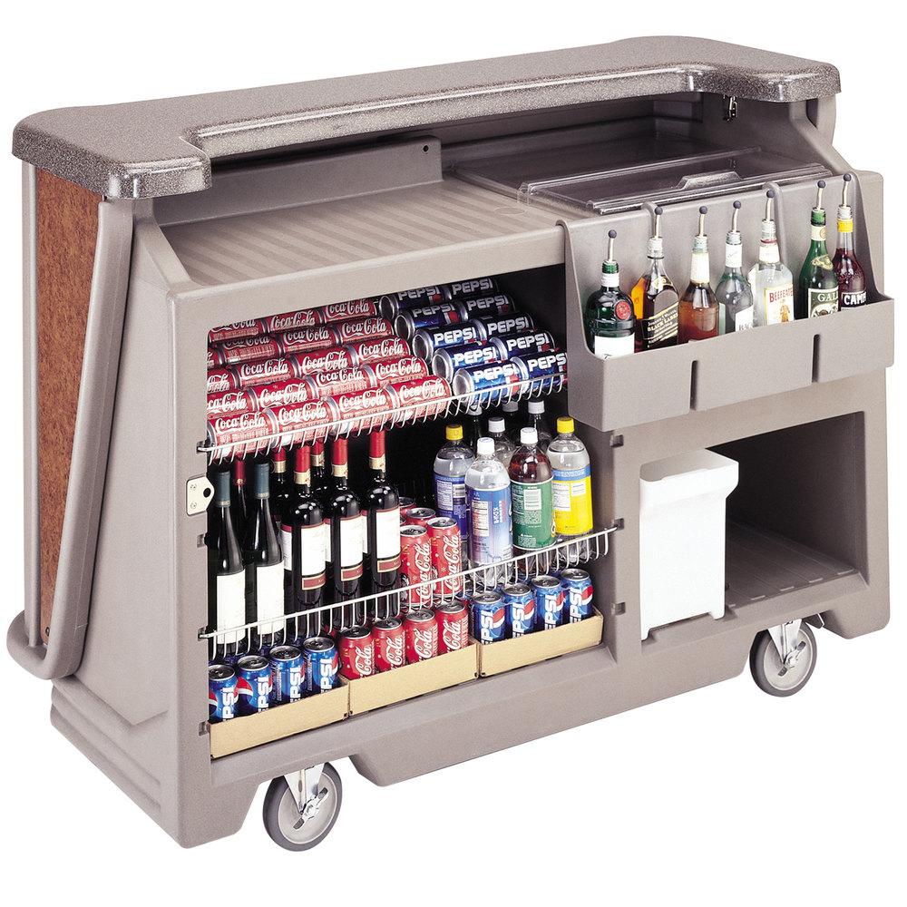 Portable Beverage Bar For Restaurant