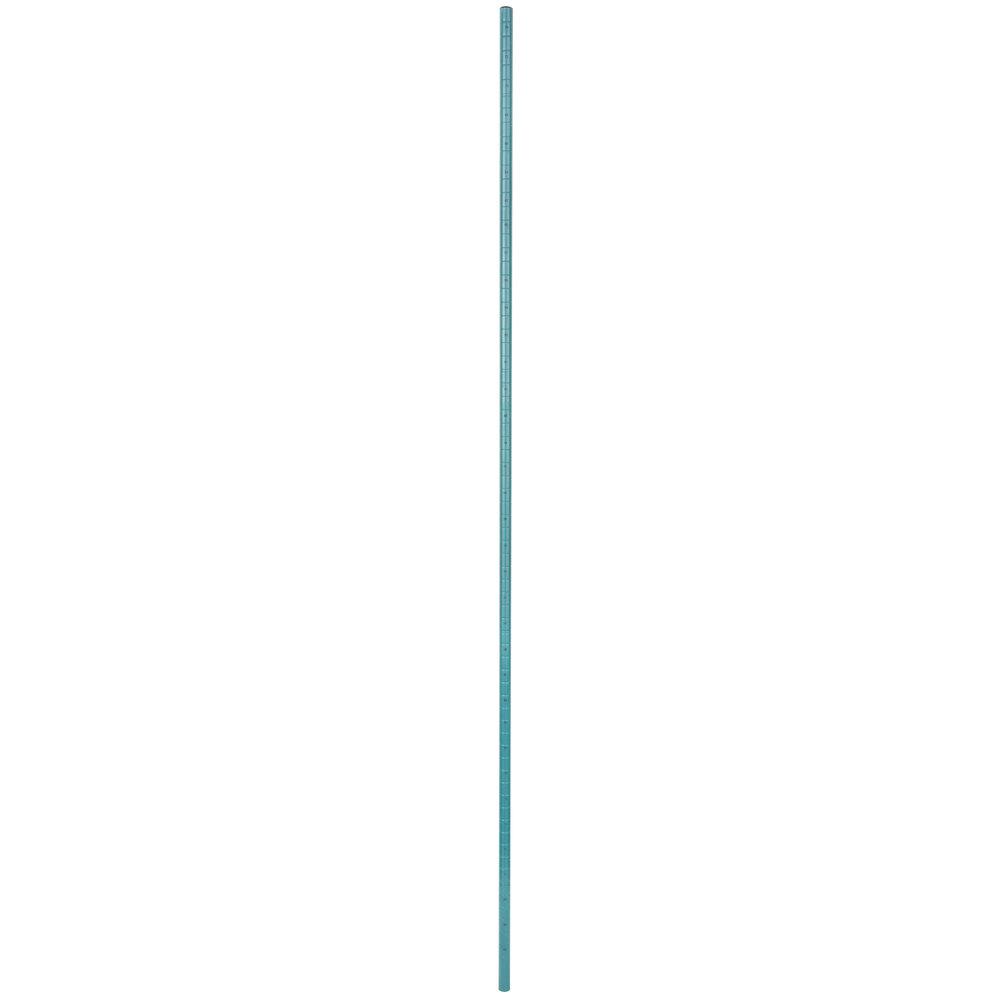 Regency 74 inch NSF Green Epoxy Mobile Shelving Post