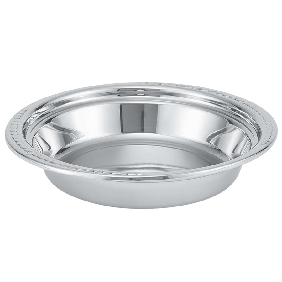 Vollrath 46505 4 Qt. Replacement Stainless Steel Food Pan for 46501 Orion Chafer