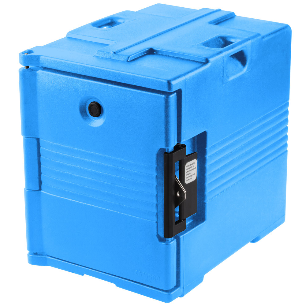 Cambro Camcarrier UPC400SP159 Cold Blue Pan Carrier with Security Package