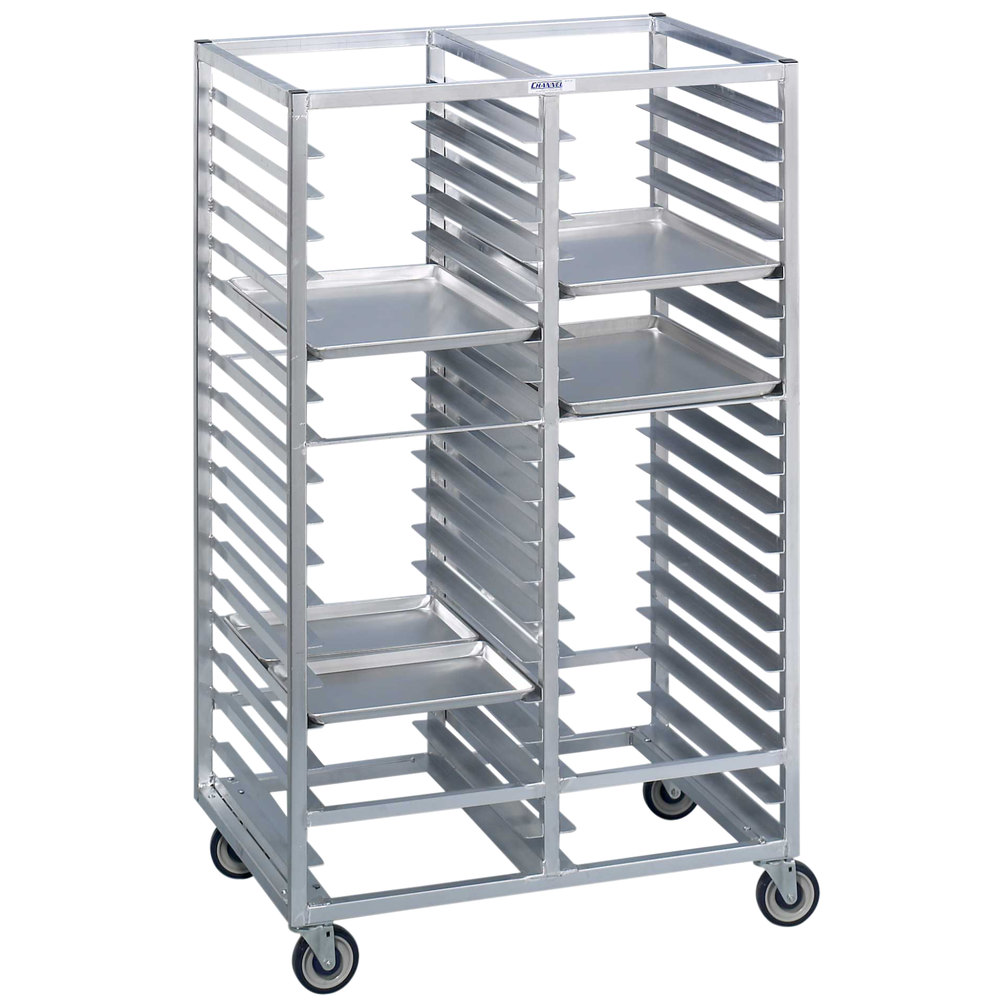 Channel 465a6 76 Tray Bottom Load Double Aluminum