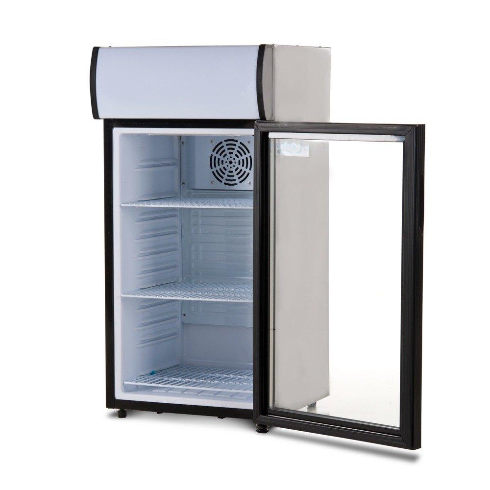 Avantco SC-80 Countertop Display Refrigerator with Glass Door - 2.7 Cu ...