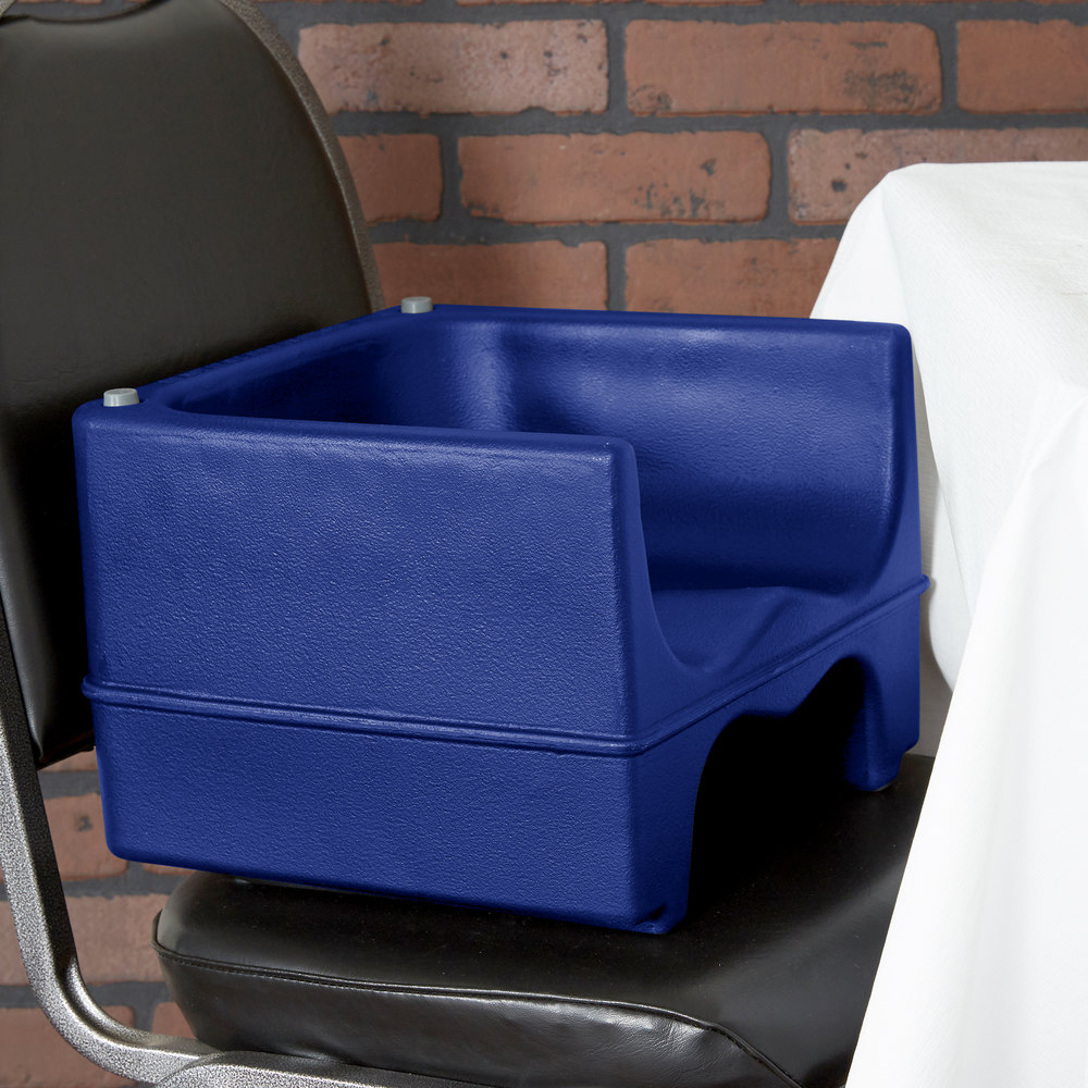 Cambro 200bc1186 Navy Blue Plastic Dual Booster Seat