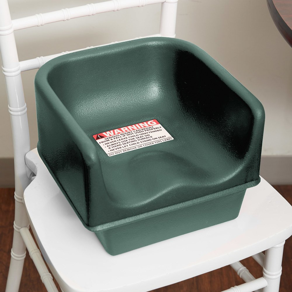 Cambro 100bc1519 Green Plastic Single Height Booster Seat