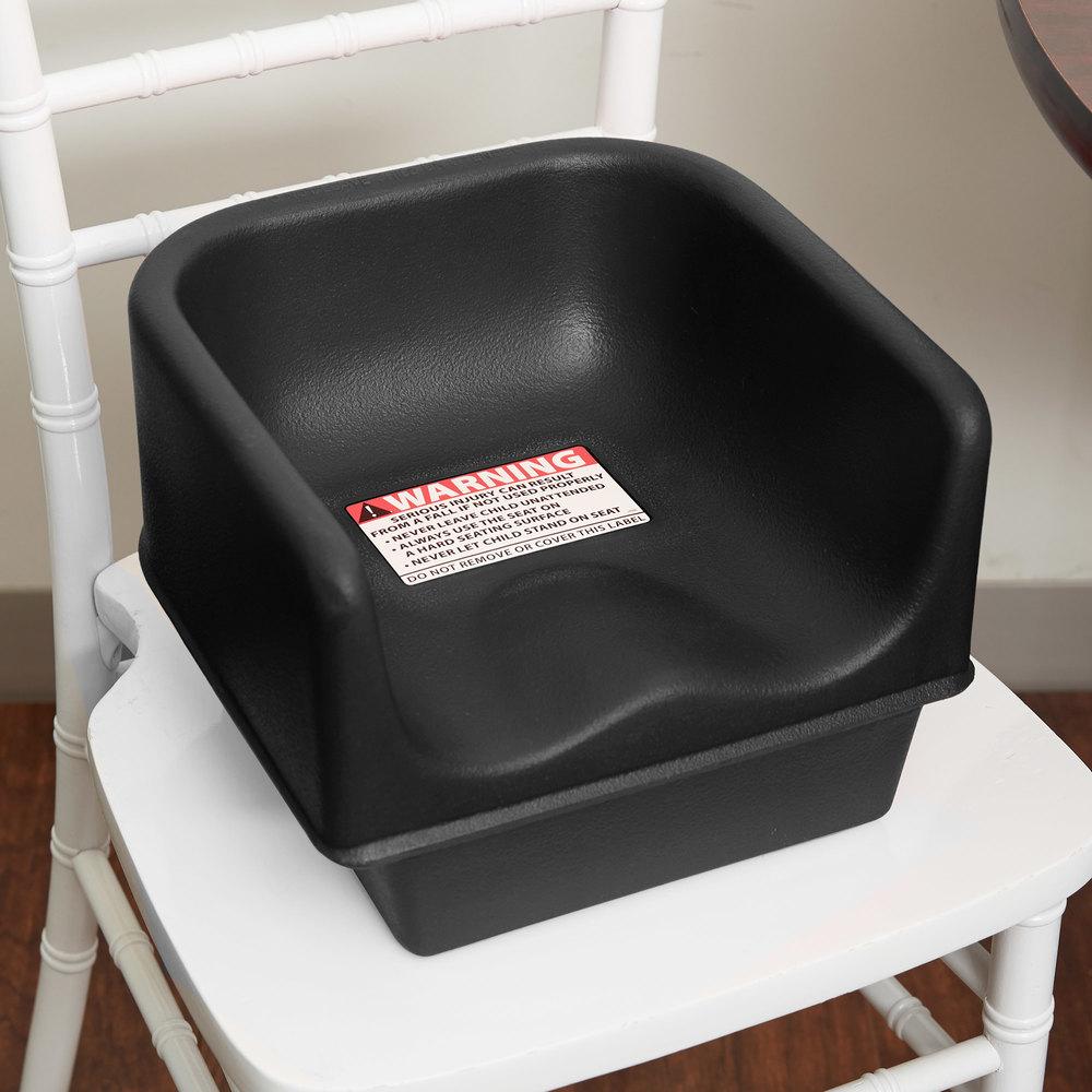 Cambro 100bc1110 Black Plastic Single Height Booster Seat