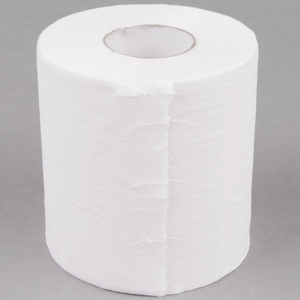 Lavex Janitorial Individually Wrapped 1 Ply Toilet Paper