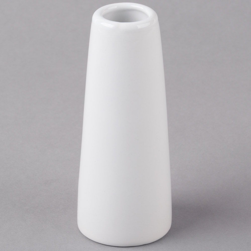 Core 4 bright white porcelain bud vase 12case main picture reviewsmspy