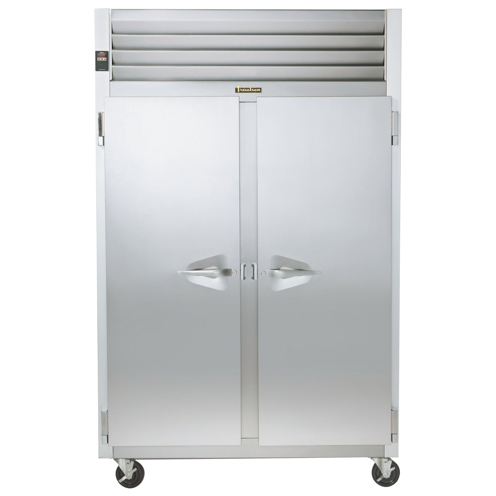 "Traulsen G20010 52"" G Series Two Section Solid Door Reach-In Refrigerator with Left / Right Hinged Doors - 46 cu. ft."