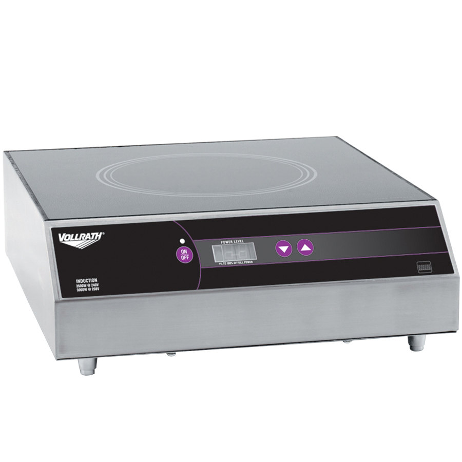 Vollrath Induction Cooker ~ Vollrath ultra series countertop induction range