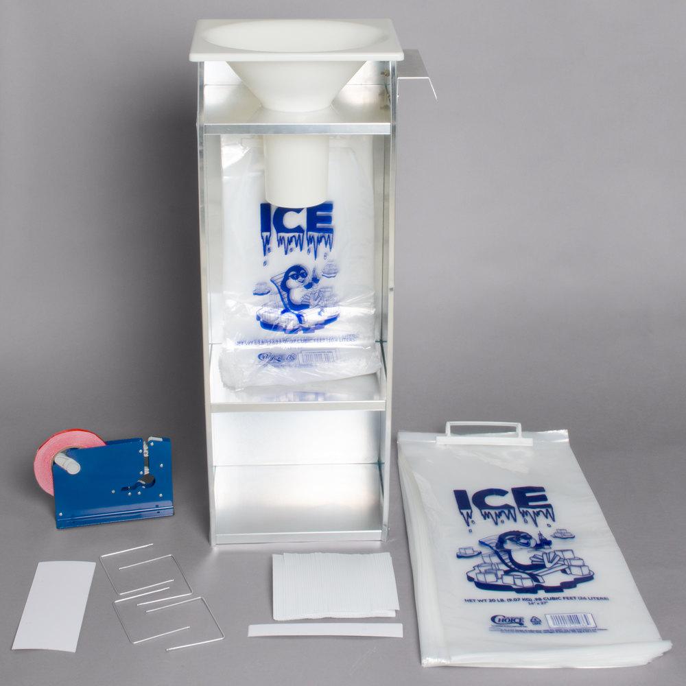 Regency Bagger Starter Kit for 20 lb. Ice Bags