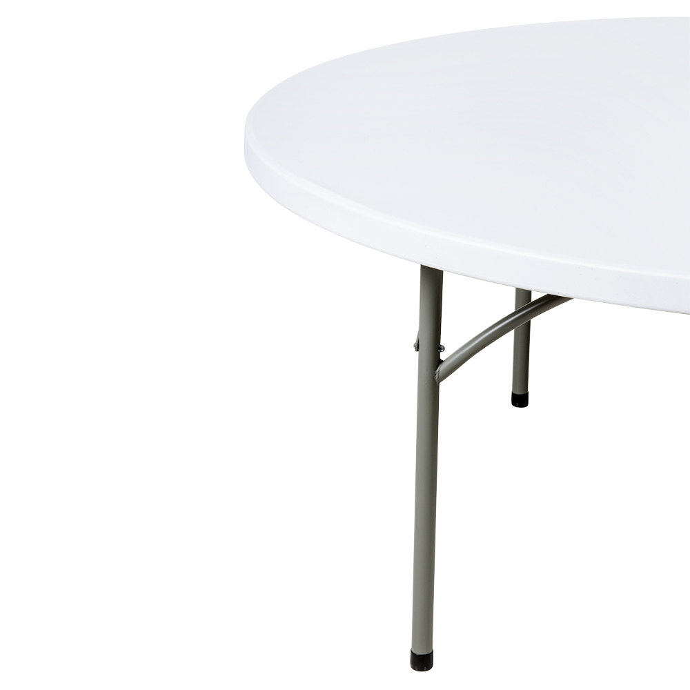 72 inch round folding table 6 foot round plastic folding for 120 inch round table seats how many