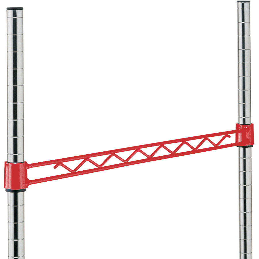 Metro H130-DF Flame Red Hanger Rail 30""