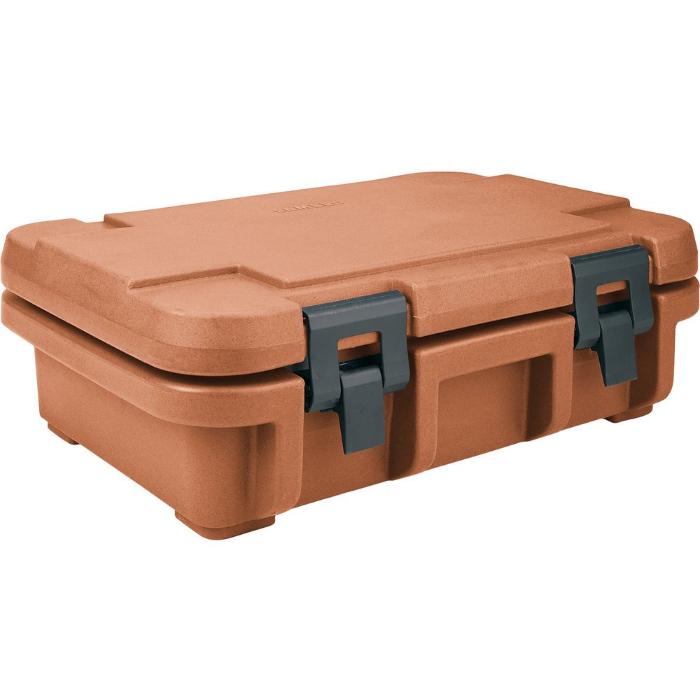 "Cambro UPC140157 Coffee Beige Camcarrier Ultra Pan Carrier - Top Load for 12"" x 20"" Food Pan"