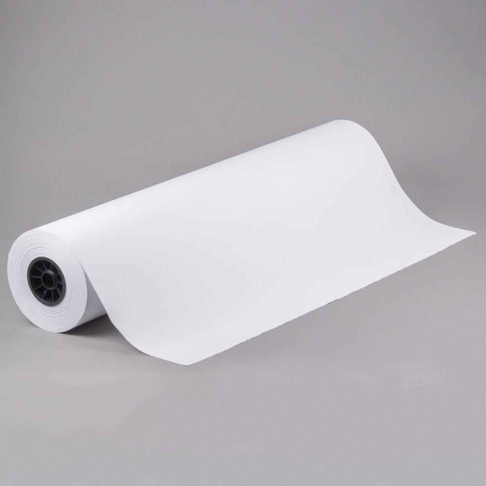 white butcher paper Find great deals on butcher paper paper, including discounts on the pacon kraft paper roll 36 in x 100 ft roll brown.