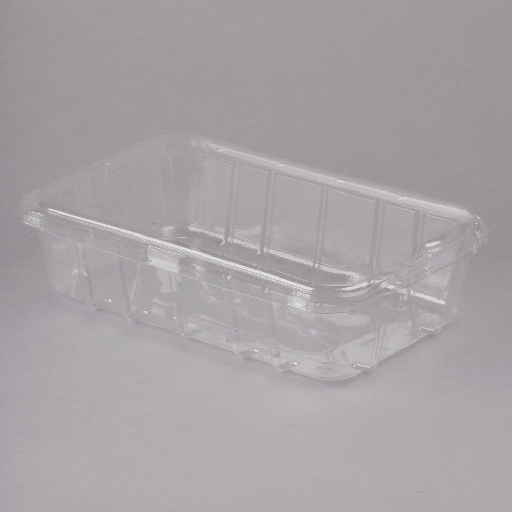3 Lb Vented Clamshell Produce Berry Container 140 Case
