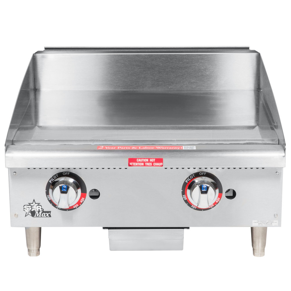 how to cook on a chrome griddle