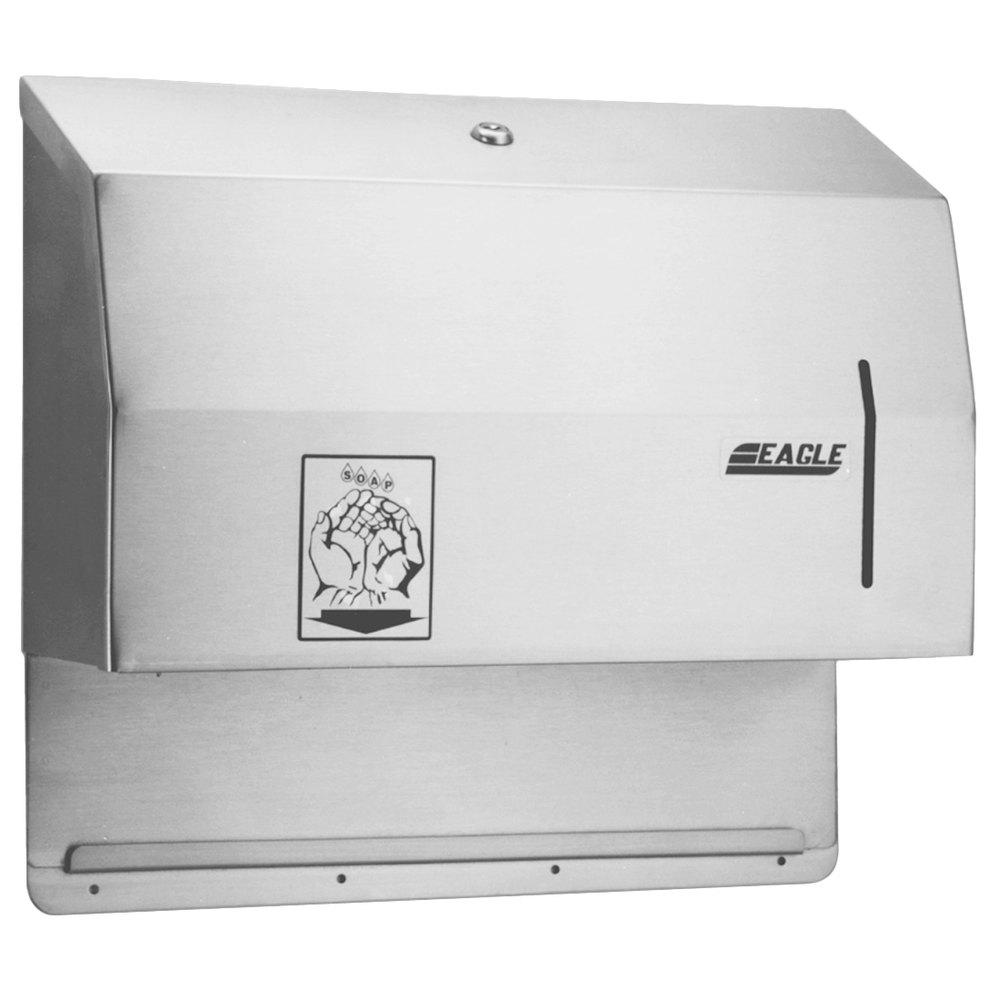 Towel Soap Dispenser ~ Eagle group dp paper towel and hands free soap