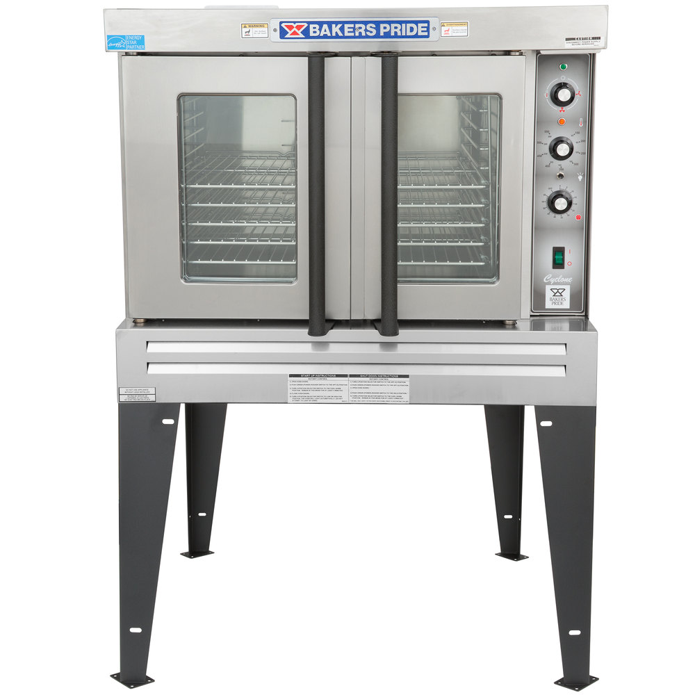 Bakers Pride Bco E1 Cyclone Series Single Deck Full Size