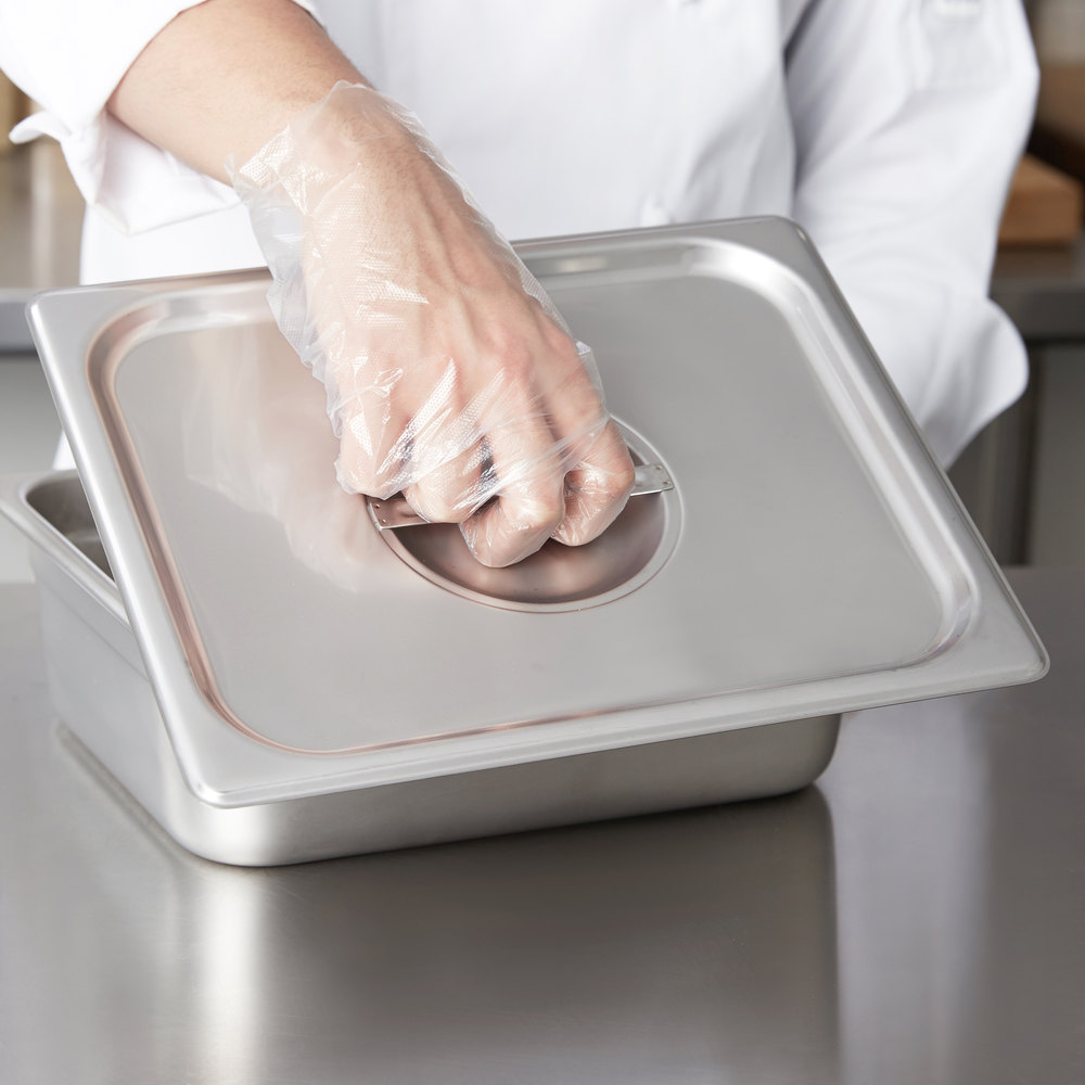 Choice 1/2 Size Stainless Steel Solid Steam Table / Hotel Pan Cover