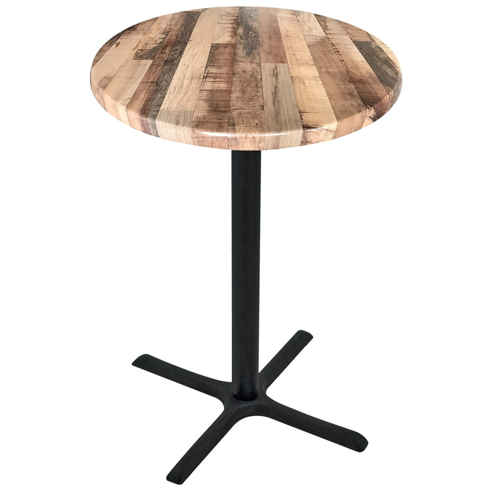 holland bar stool odbwodrrustic  round rustic wood  - main picture video