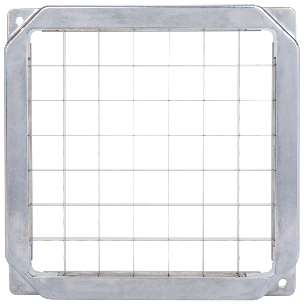 "Nemco 55485 1"" x 1"" Square Blade and Holder Assembly for Easy LettuceKutter"