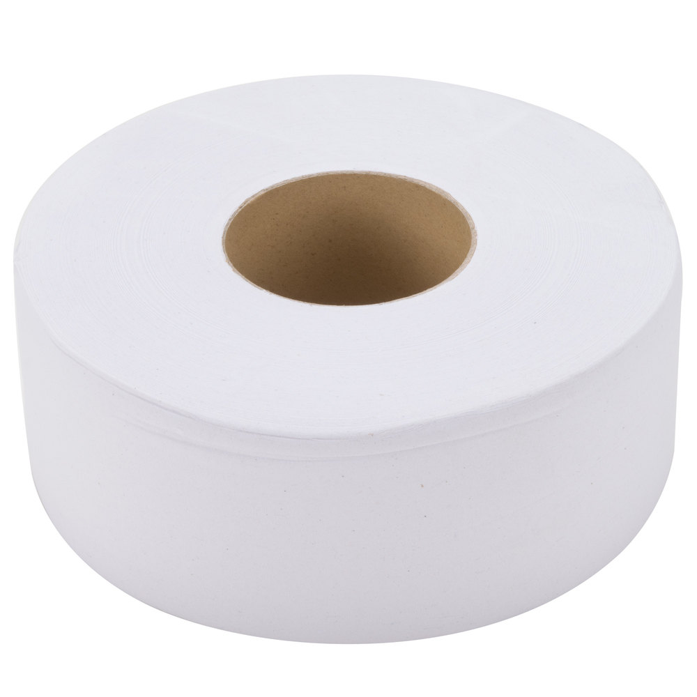 Lavex Janitorial 1 Ply Jumbo Toilet Paper Roll With 9