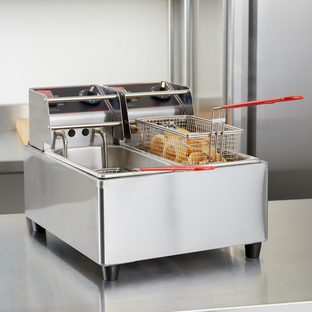 Electric Deep Fryer : Cecilware el stainless steel electric commerical