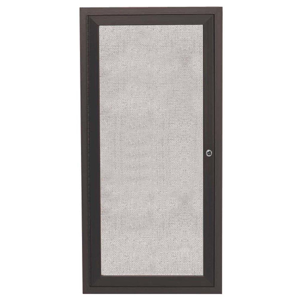 ODCC2412RBA 24 x 12 Enclosed Hinged Locking 1 Door Bronze