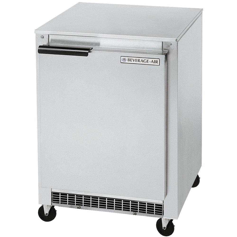 beverage air ucr20y 20 shallow depth low profile undercounter refrigerator 2 7 cu ft. Black Bedroom Furniture Sets. Home Design Ideas