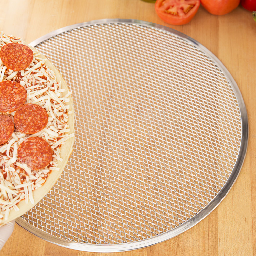 "16"" Aluminum Pizza Screen"