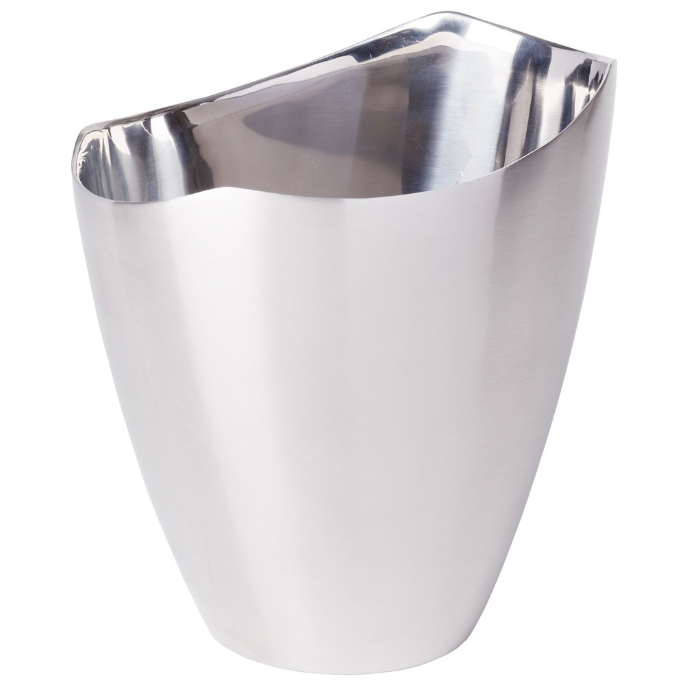 Franmara 9296 Elliptic Stainless Steel Double Wall Wine Bucket