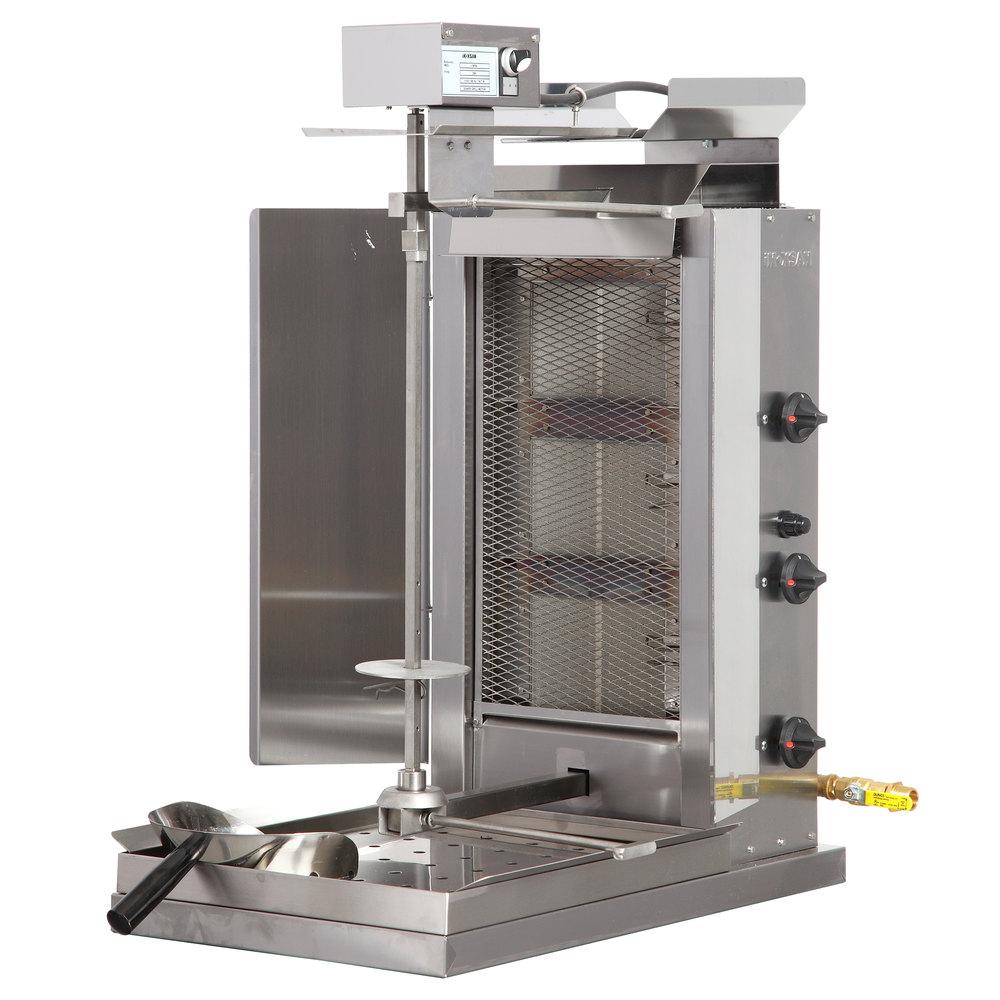 Inoksan Pdg 103mn Natural Gas Doner Kebab Machine