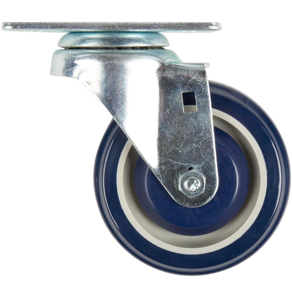 Regency 4 inch Swivel Plate Caster
