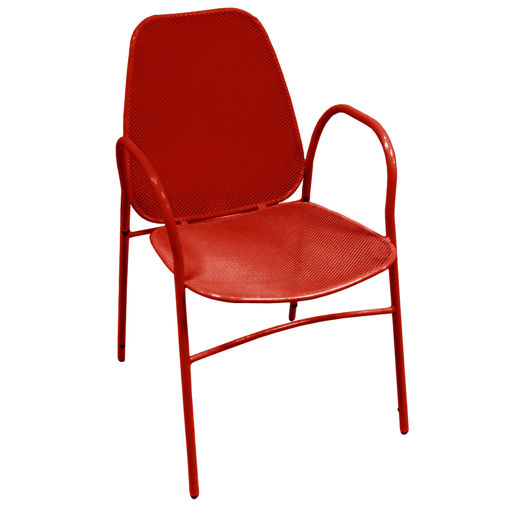 ... Mesh Outdoor Powder Coated Metal Chair. Main Picture